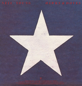 Used Vinyl Neil Young- Hawks & Doves