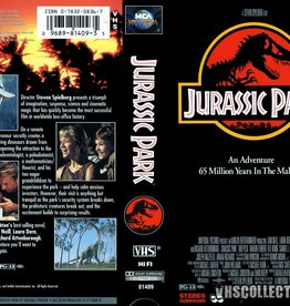 Used VHS Jurassic Park