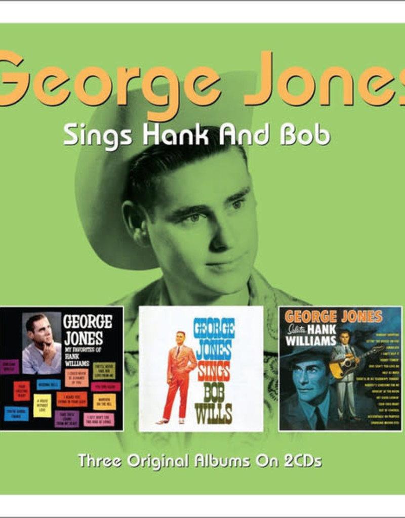Used CD George Jones- Sings Hank And Bob