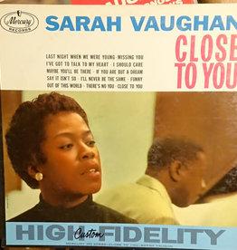 Used Vinyl Sarah Vaughan-Close To You
