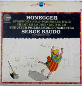 Used Vinyl Honeggger- Symphony No. 5 (Serge Bardo Conducting)
