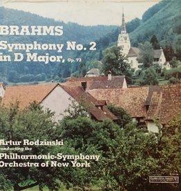 Used Vinyl Brahms- Symphony No. 2 In D Major Op. 73 (Artur Rodzinski Conducting)
