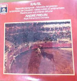 Used Vinyl Ravel- Rapsodie Espagnole (Andre Previn Conducting)