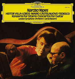 Used Vinyl Villa-Lobos/ Castelnuovo-Tedesco- Concertos For Guitar