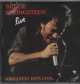 Used CD Bruce Springsteen- Greatest Hits Live