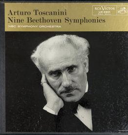 Used Vinyl Beethoven- Nine Beethoven Symphonies (Arturo Toscanini Composing)