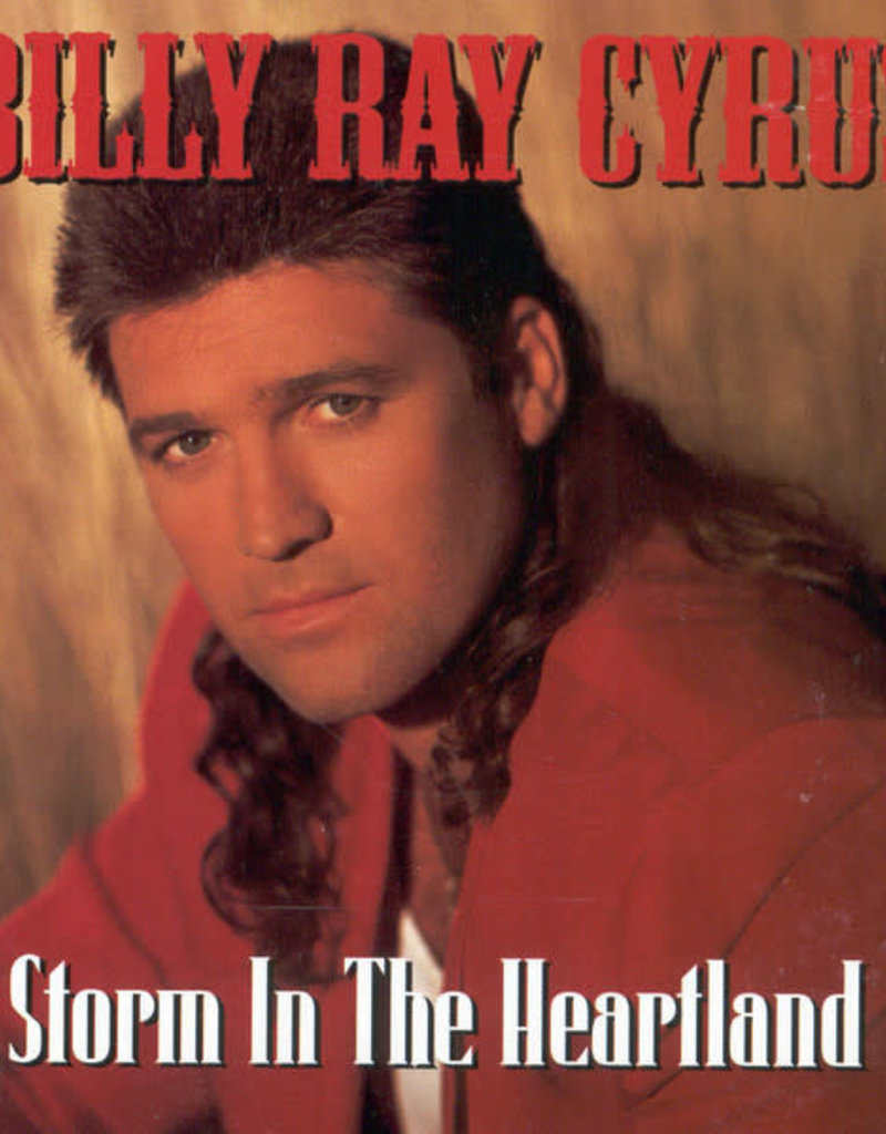 Used CD Billy Ray Cyrus- Storm In The Heartland
