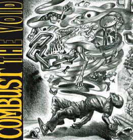 Used Vinyl Combust- The Void (Black w/Splatter)