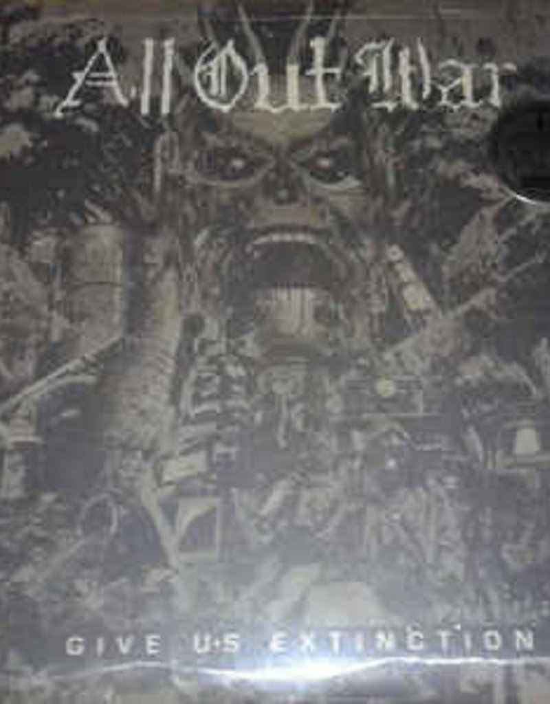 Used Vinyl All Out War- Give Us Extinction (Clear)