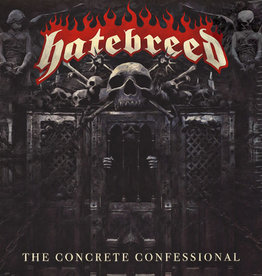 Used Vinyl Hatebreed- The Concrete Confessional (Clear)