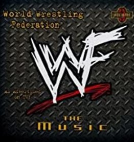 Used CD Various- WWF The Music