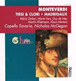 Used CD Monteverdi- Tirsi & Clori/ Madrigaux (Nicholas McGegan, Conductor)