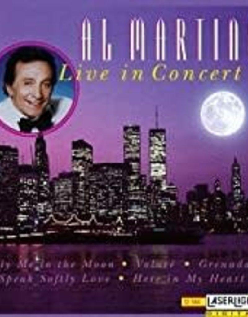 Used CD Al Martino- Live In Concert