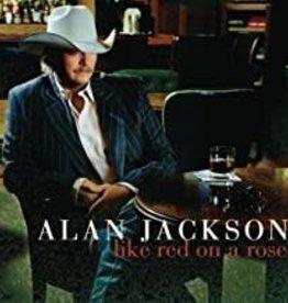 Used CD Alan Jackson- Like Red On A Rose