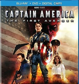 Used BluRay Captain America The First Avenger