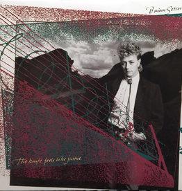 Used Vinyl Brian Setzer- The Knife Feels Like Justice
