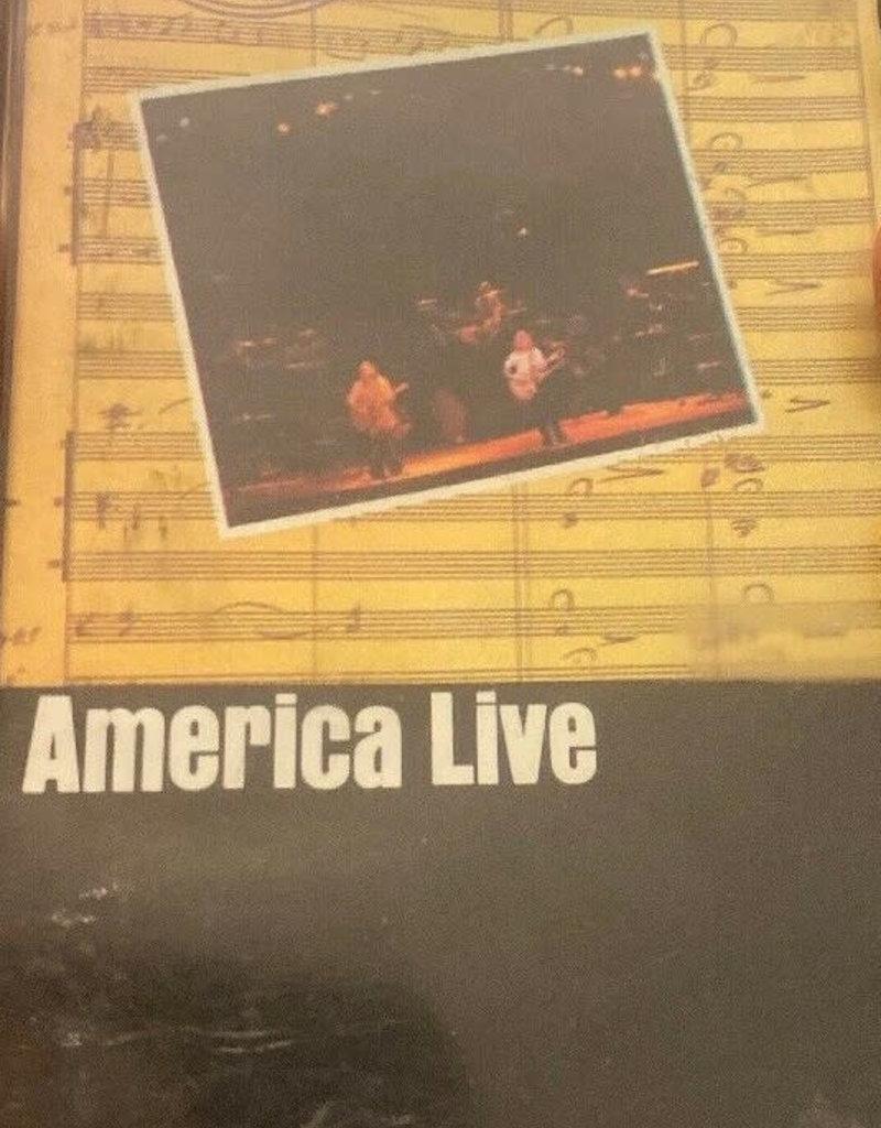Used Cassettes America- America Live
