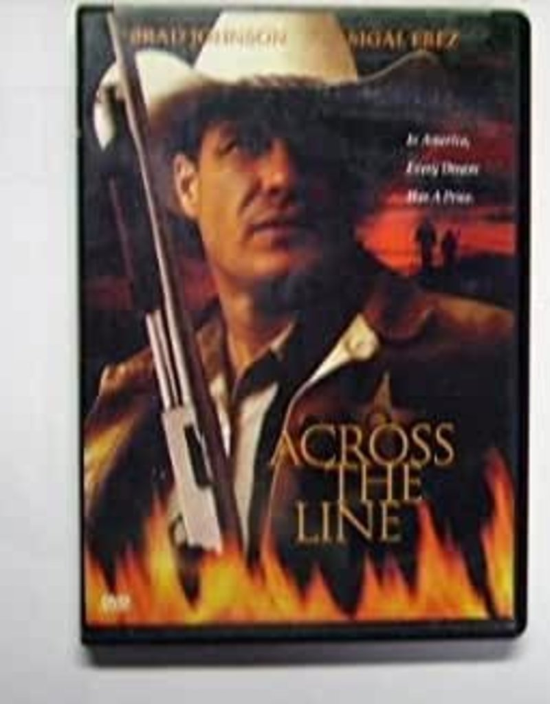 Used DVD Across The Line