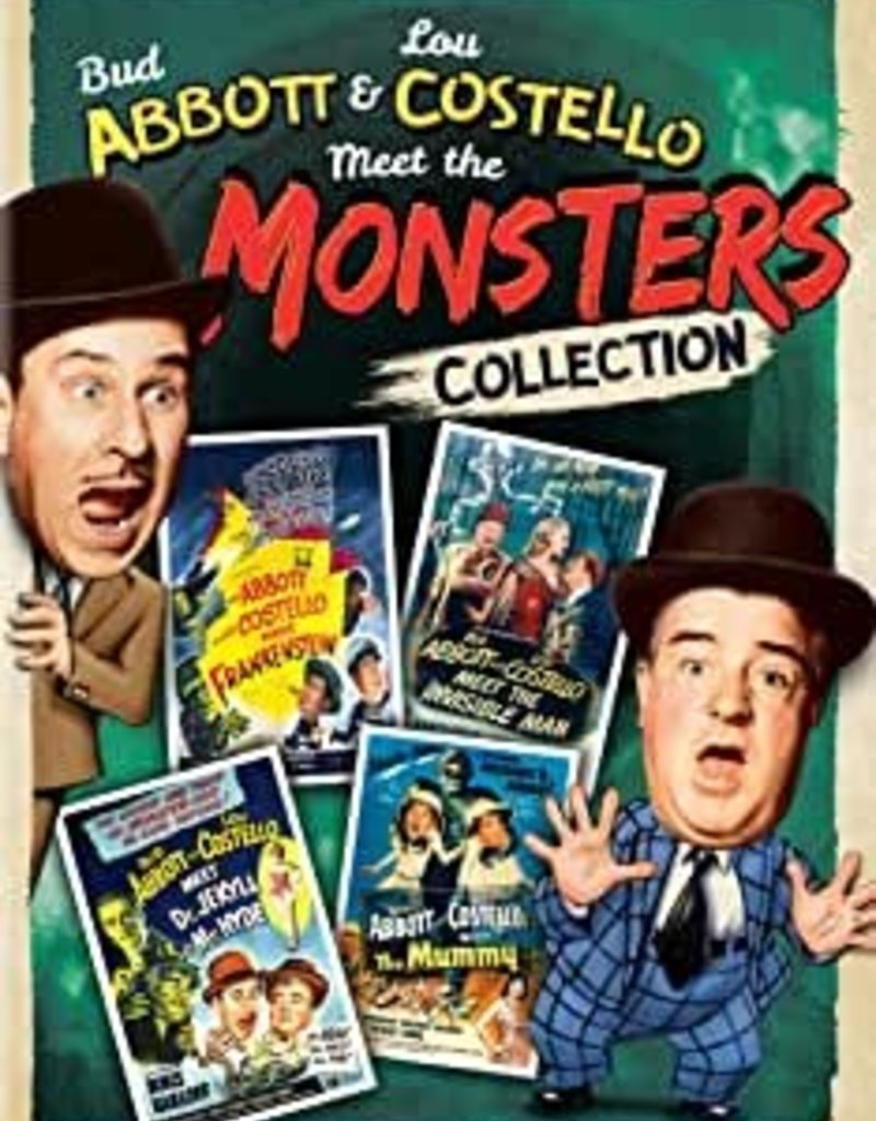 Used DVD Abbott & Costello Meet The Monsters Collection