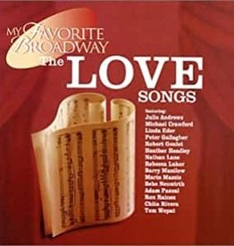 Used CD Various- My Favortie Broadwy The Love Songs
