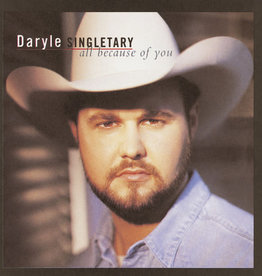 Used CD Daryle Singletary- All Because Of You