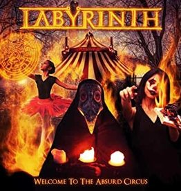 Used CD Labyrinth- Welcome To The Absurd Circus