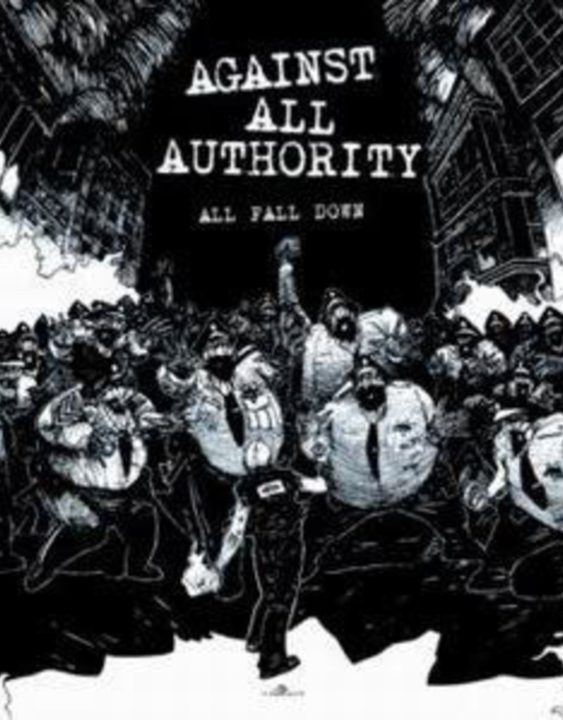 Used CD Against All Authority- All Fall Down