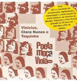Used CD Poeta, Moca, Violao- Viniciusm Clara Nunes e Toquinho