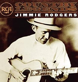 Used CD Jimmie Rodgers- Country Legends