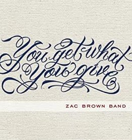 Used CD Zac Brown Band- You Get What You Give