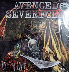 Used Vinyl Avenged Sevenfold- City Of Evil (15th Anniversary Press: Red Inside Clear w/Gray Splatter)