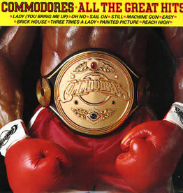 Used Vinyl Commodores- All The Great Hits
