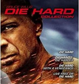 Used BluRay Die Hard Quadrilogy