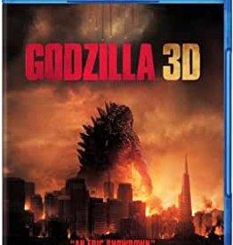 Used BluRay Godzilla 3D