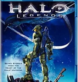 Used BluRay Halo Legends