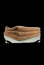 Chemical Guys Workhorse Tan Professional Grade Microfiber Towel 16''X16'' (Leather & Vinyl) (3 Pack)