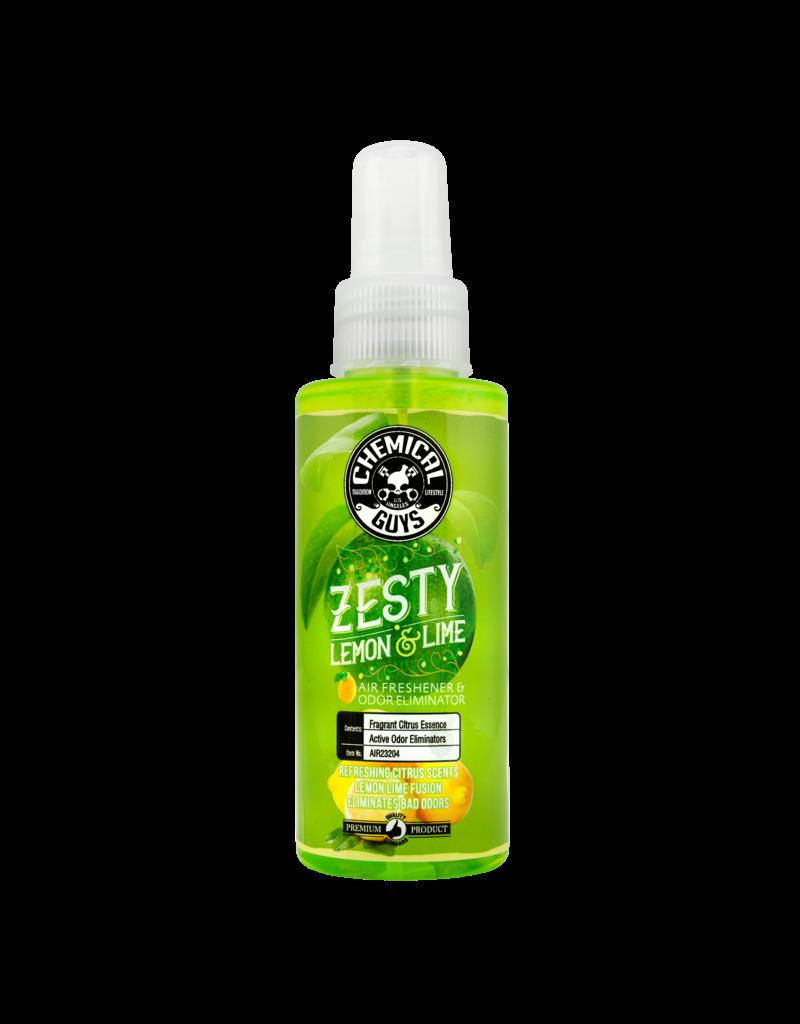 Chemical Guys Zesty Lemon and Lime Air Freshener and Odor Eliminator, 4 fl. oz