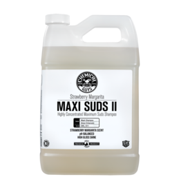 Chemical Guys Maxi-Suds II: Super Suds Shampoo- Strawberry Clear - Superior Surface Shampoo (1 Gal)