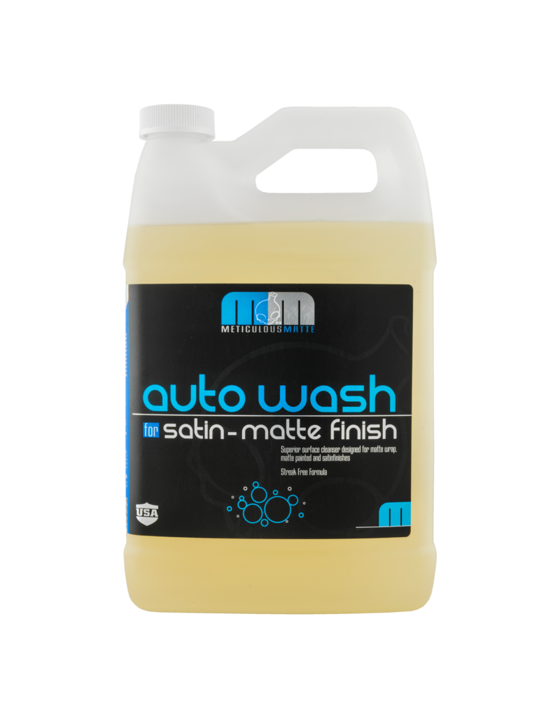 Chemical Guys Meticulous Matte Auto Wash For Satin Finish & Matte Finish Paint (1 Gal)