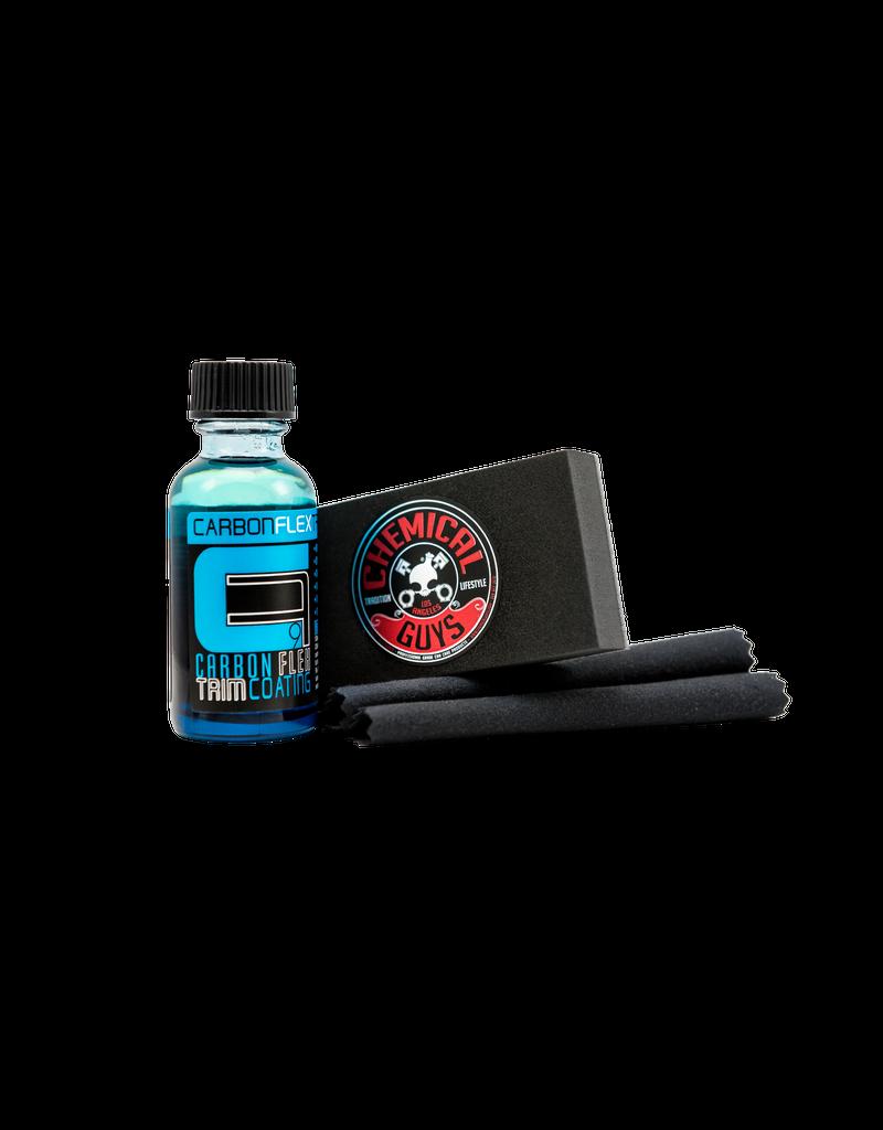 Chemical Guys Carbon Flex Trim Restoration Kit System (1oz - 2 Towels + Applicator