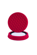 Hex-Logic 7.5'' ''Self Center'' Hex-Logic Pad -Red Perfection Ultrafine Wax & Sealant Finishing Pad (7.5''Inch)