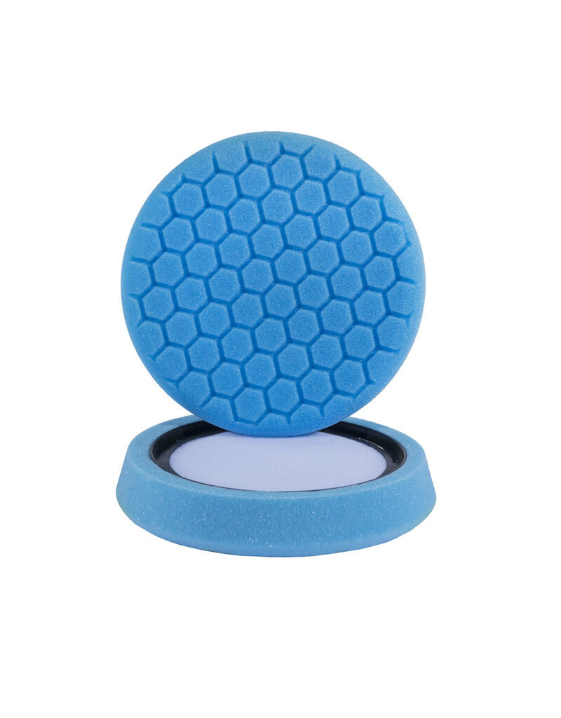 Hex-Logic 7.5''  ''Self Center'' Hex-Logic Blue Light Cleaning, Glazes And Gloss Enhancing Pad (7.5''Inch)