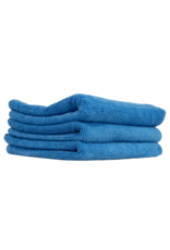 Chemical Guys Ultrafine Microfiber Towels, Blue (15''X15''; 3 Pack)