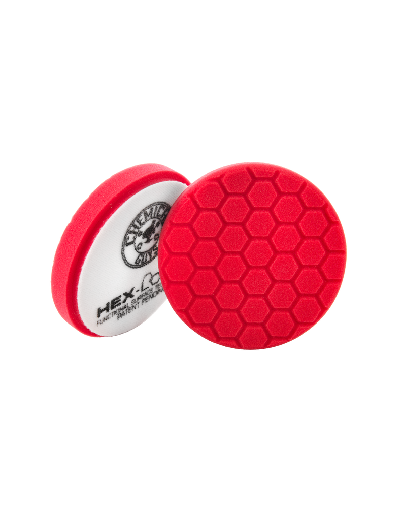 Hex-Logic 5.5'' Hex-Logic Pad -Red Perfection Ultrafine Wax & Sealant Finishing Pad (5.5''Inch)