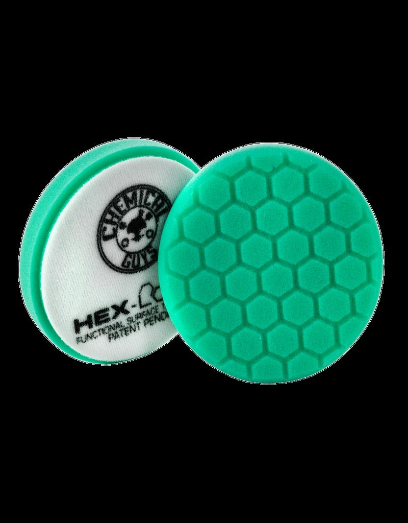 Hex-Logic 6.5 '' Hex-Logic Pad Green Light Cut-Heavy Polish Minor Scratch & Swirl Remover Pad- 6.5''Inch)