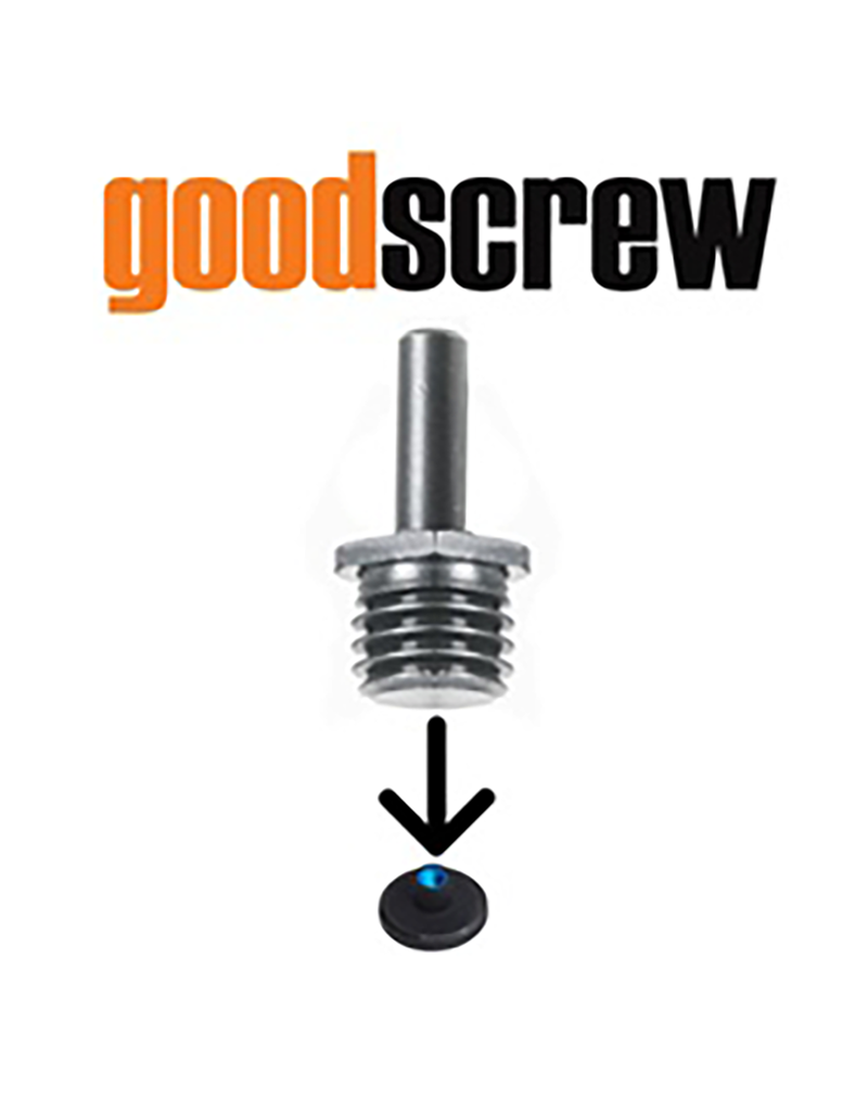 Good Screw Good Screw- Drill Adaptor Makes Rotary Backing Plates Fit On Any Drill