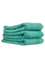 Chemical Guys Workhorse Towel-Green For Exteriors Professional Grade Microfiber Towels-(16'' X 24'') (3-Pack)