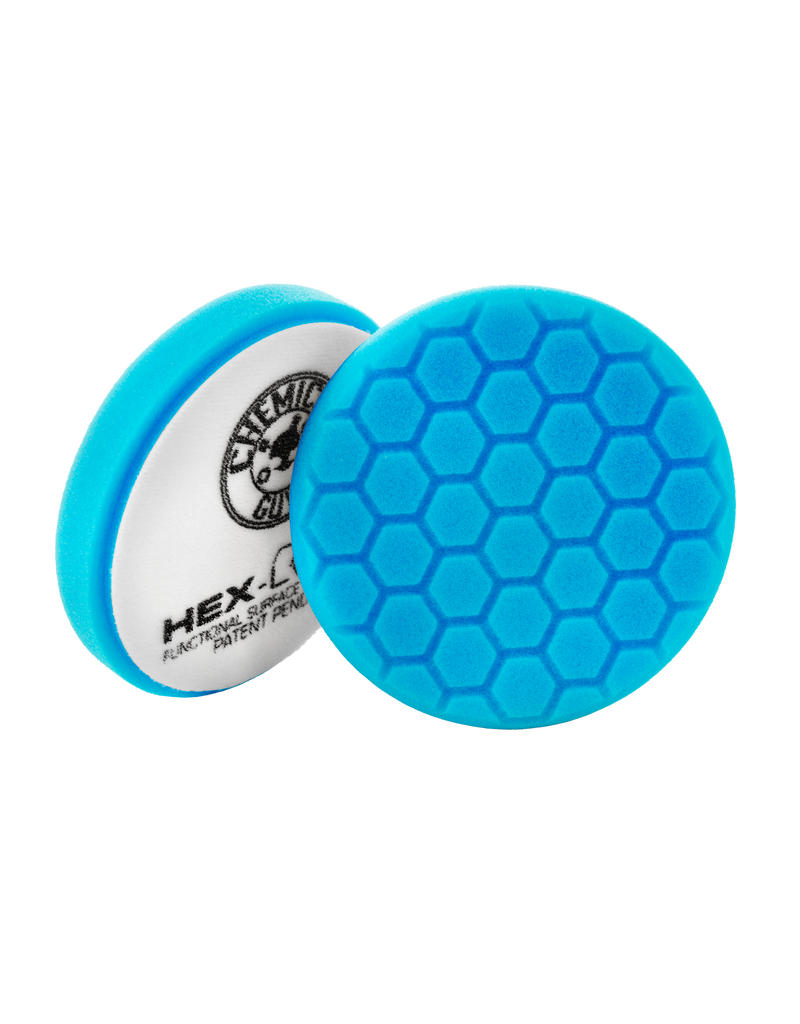 Hex-Logic 6.5'' Hex-Logic Blue Light Cleaning, Glazes And Gloss Enhancing Pad (6.5''Inch)
