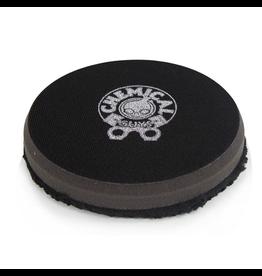 Chemical Guys 4'' Finishing Micro Fiber Pad, Black Inner Foam, 3/4'' Thickness (1pcs)