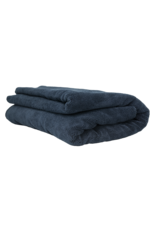 Chemical Guys Elegant Edgeless Microfiber Towel, Black 51'' X 30''